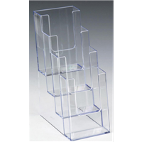 Brochure Holder - Tabletop 4-Tier (#2001)